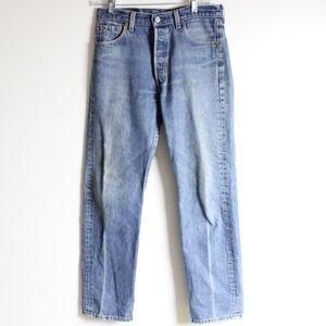 Vintage Levi 501's High Waisted Jeans